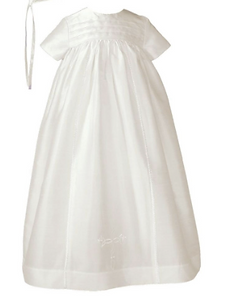 Silk Christening Gown for boy or girl