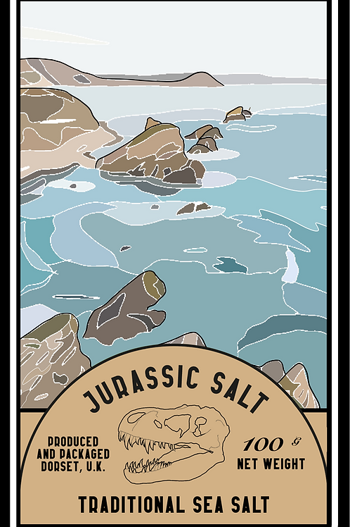 Traditional Sea Salt Mill