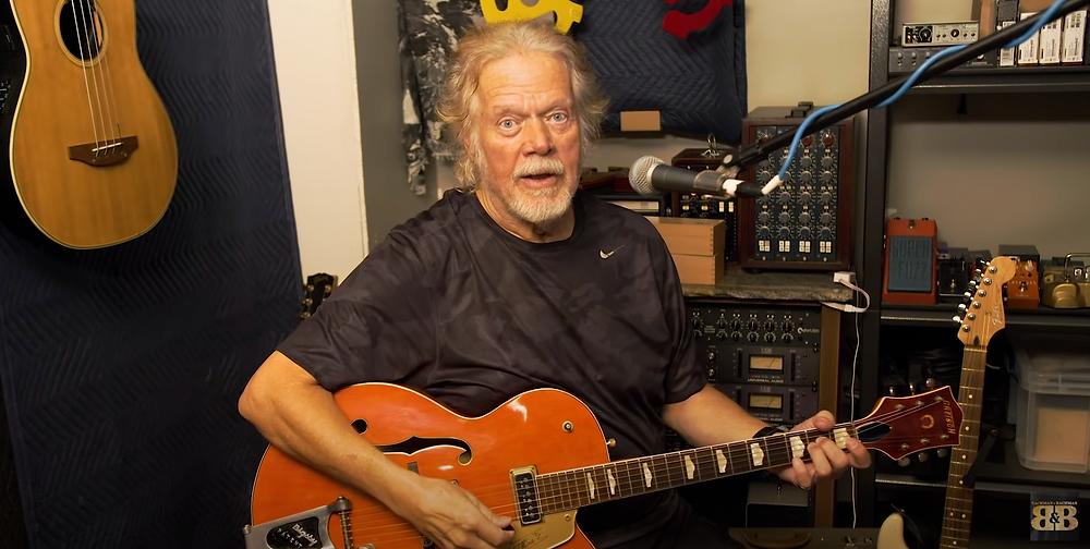Randy Bachman, stolen guitar, Gretsch, music, COVID