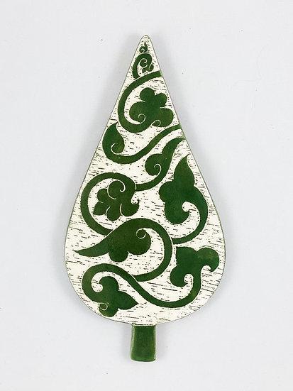 Ivy Wall Décor, Ceramic