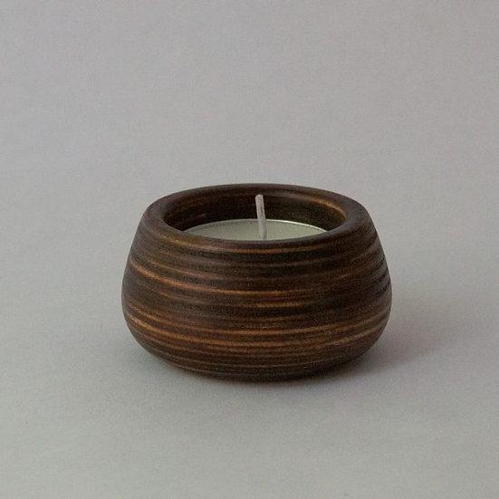Candle Holder, Wood