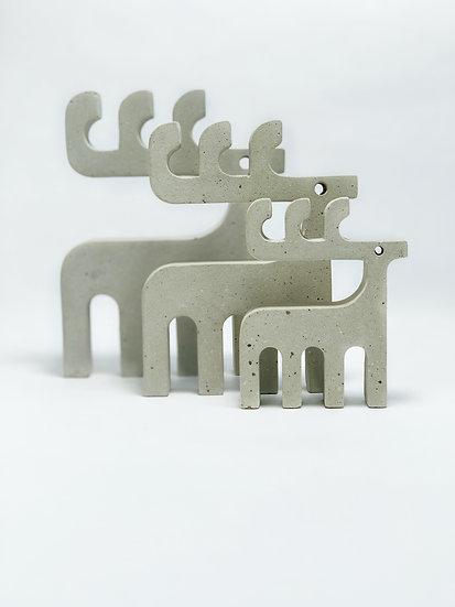 Deer Family, Cement