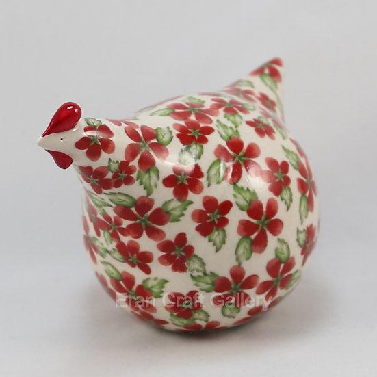 Rose Hen, Ceramic