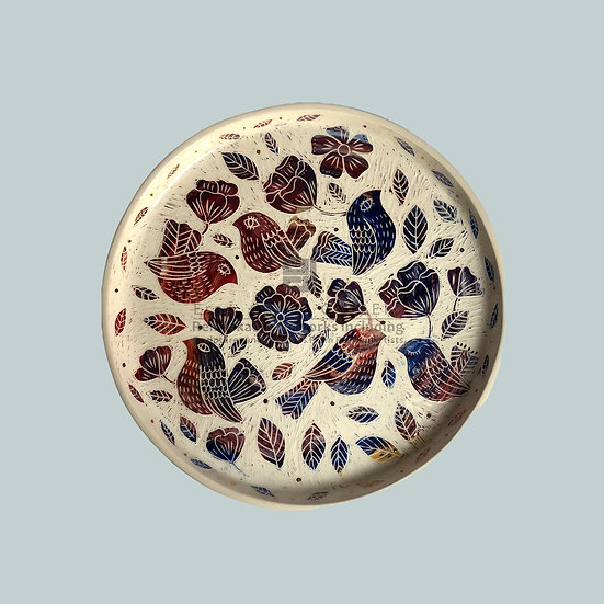 Plate, Swallow