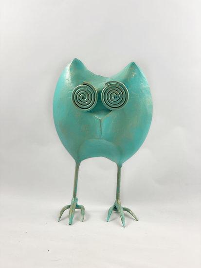 Handmade Metal Owl