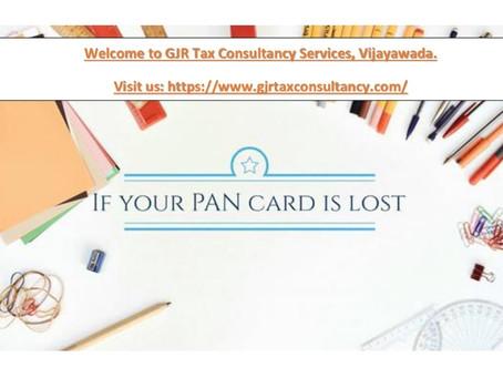 You want Duplicate PAN Card?