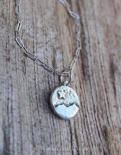 Sterling Silver Star Gazer Necklace