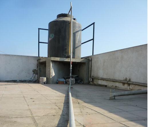 limpieza de tanque elevado