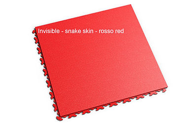 Fortelock-invisible-snake-skin-ROSSO RED