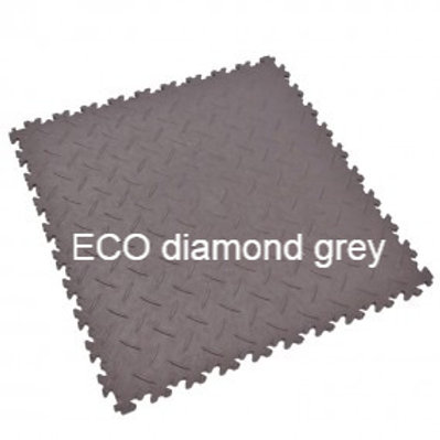 Fortelock Industry ECO diamond / coin / skin  grey 1 db.