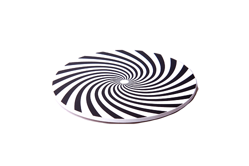 Wanddrehscheibe Spirale