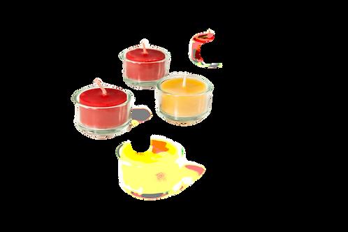 Teelichtglas