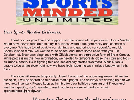 Sports Minded Update