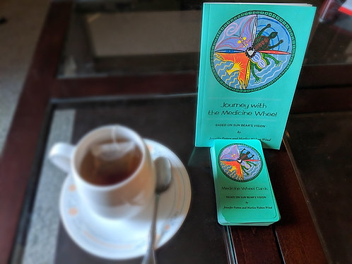 Journey with the Medicine Wheel + Cards Combination