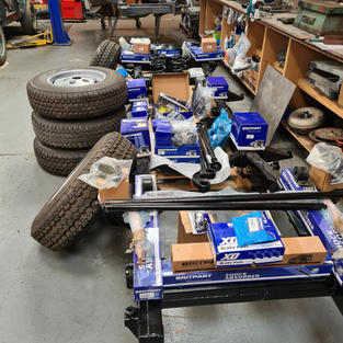 Everything you need to create a rolling chassis