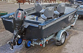 Tuffy boat with 70HP outboard