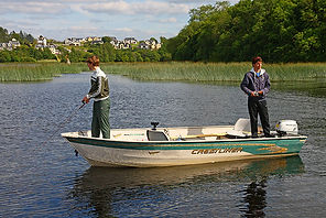 Crestliner boat on Lough Derg