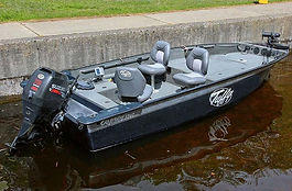 Tuffy 1760 guide boat