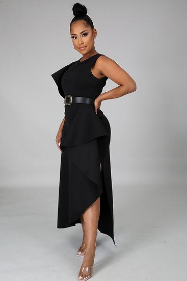 Head Over Heels Black Dress