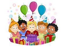 BIRTHDAY CELEBRATION-WHITE BACKGROUND (5
