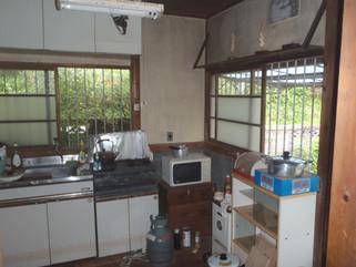 改装前 キッチン