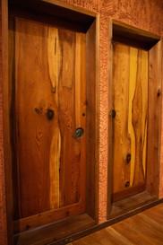 浴室入口扉