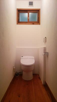 改装後 トイレ