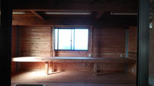 改修後 作業小屋