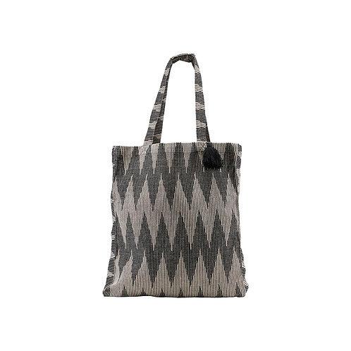 Meraki - Mulepose med kvast, Jacquardvævet bomuld