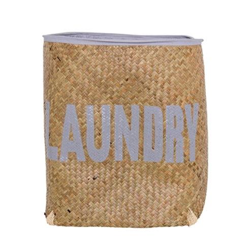 Bloomingville - Laundry Basket, Natur, Søgræs
