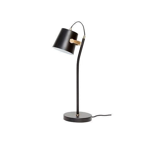 Hübsch - Bordlampe, metal, sort