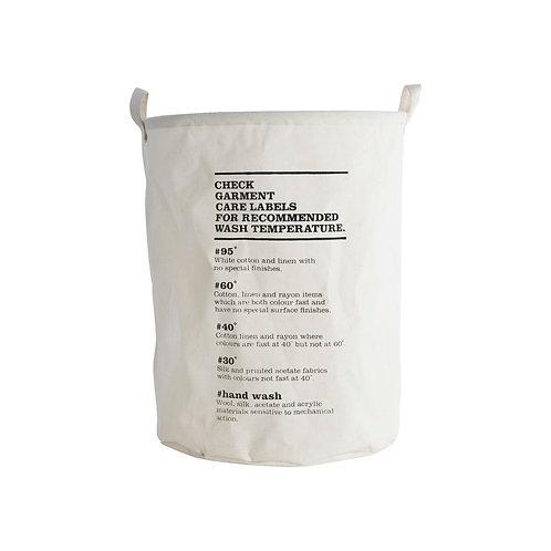 House Doctor - Vasketøjspose, Wash instructions