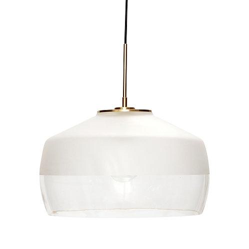 Hübsch - Frost Hvid Loftlampe