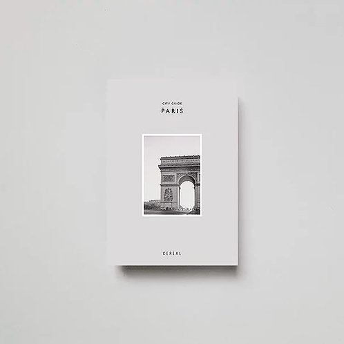 New Mags - Cereal City Guide: Paris