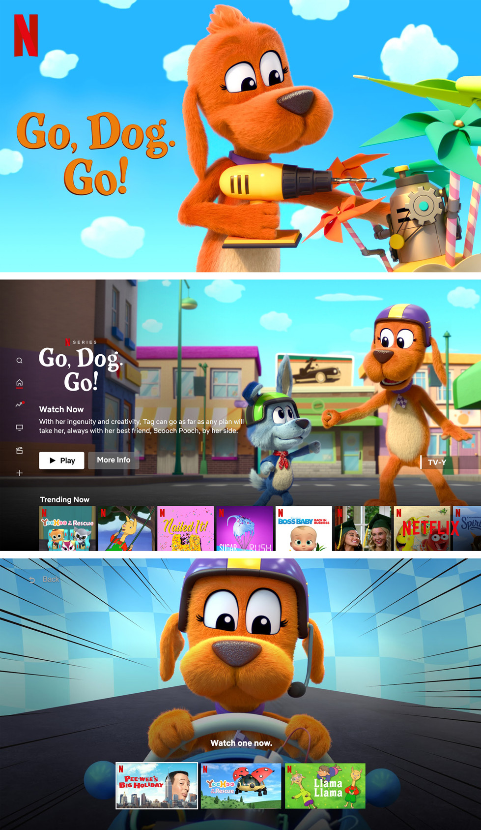 Go Dog Go - final Canvases