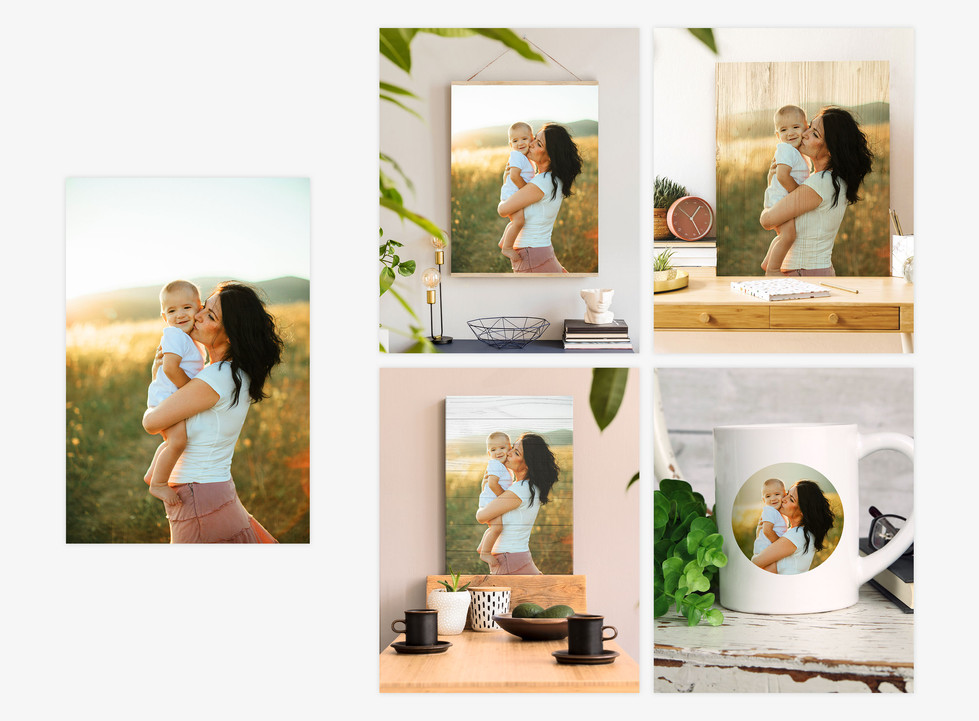 mother's day product mockups