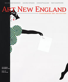 Cover of Art New England Magazine, November 2016