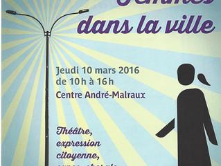 Femmes dans la ville - 10 mars