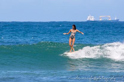 surf martinique victoria vergara longboard
