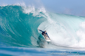 Surf barrel martinique
