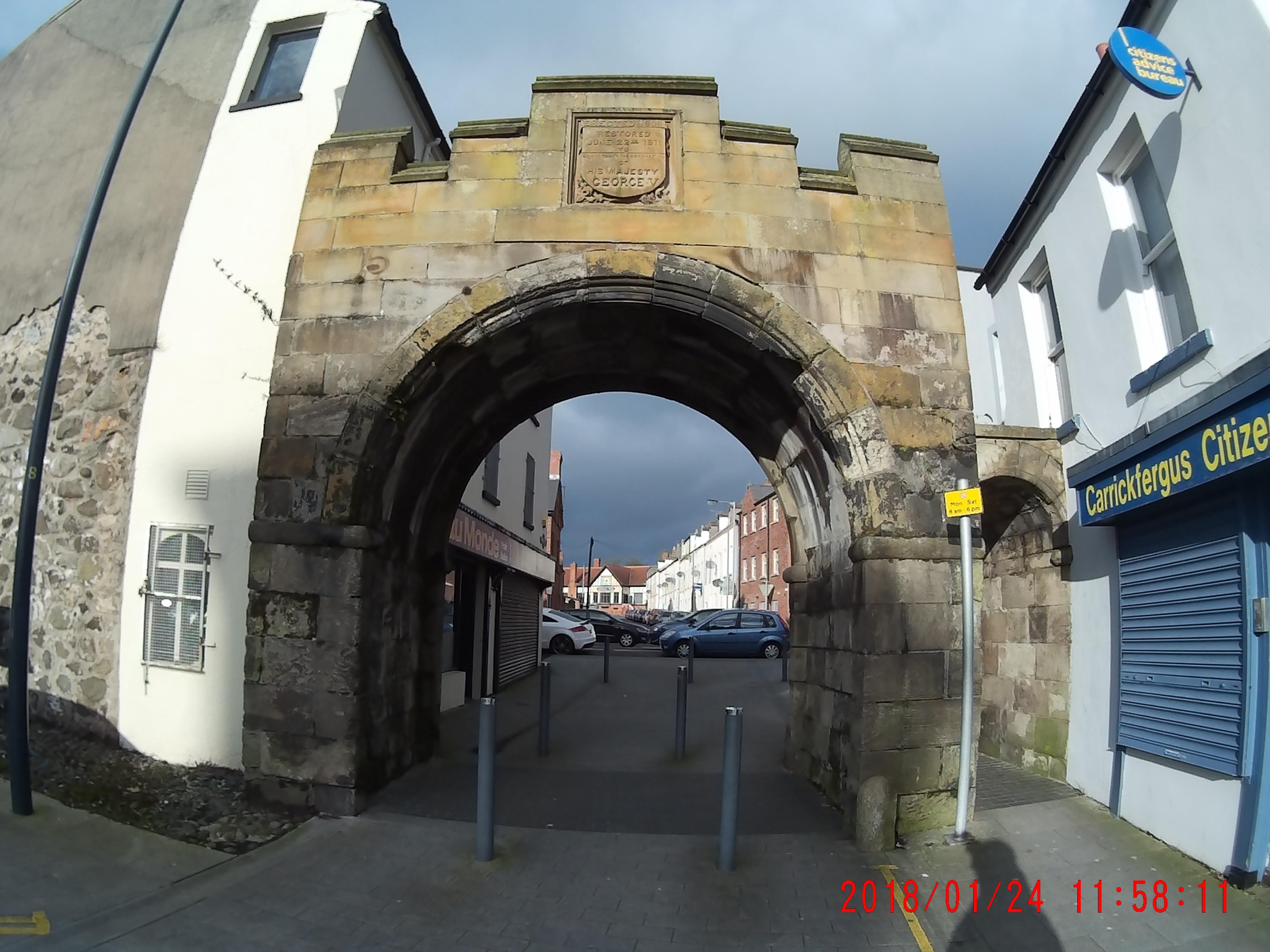 The North Gate Carrickfergus