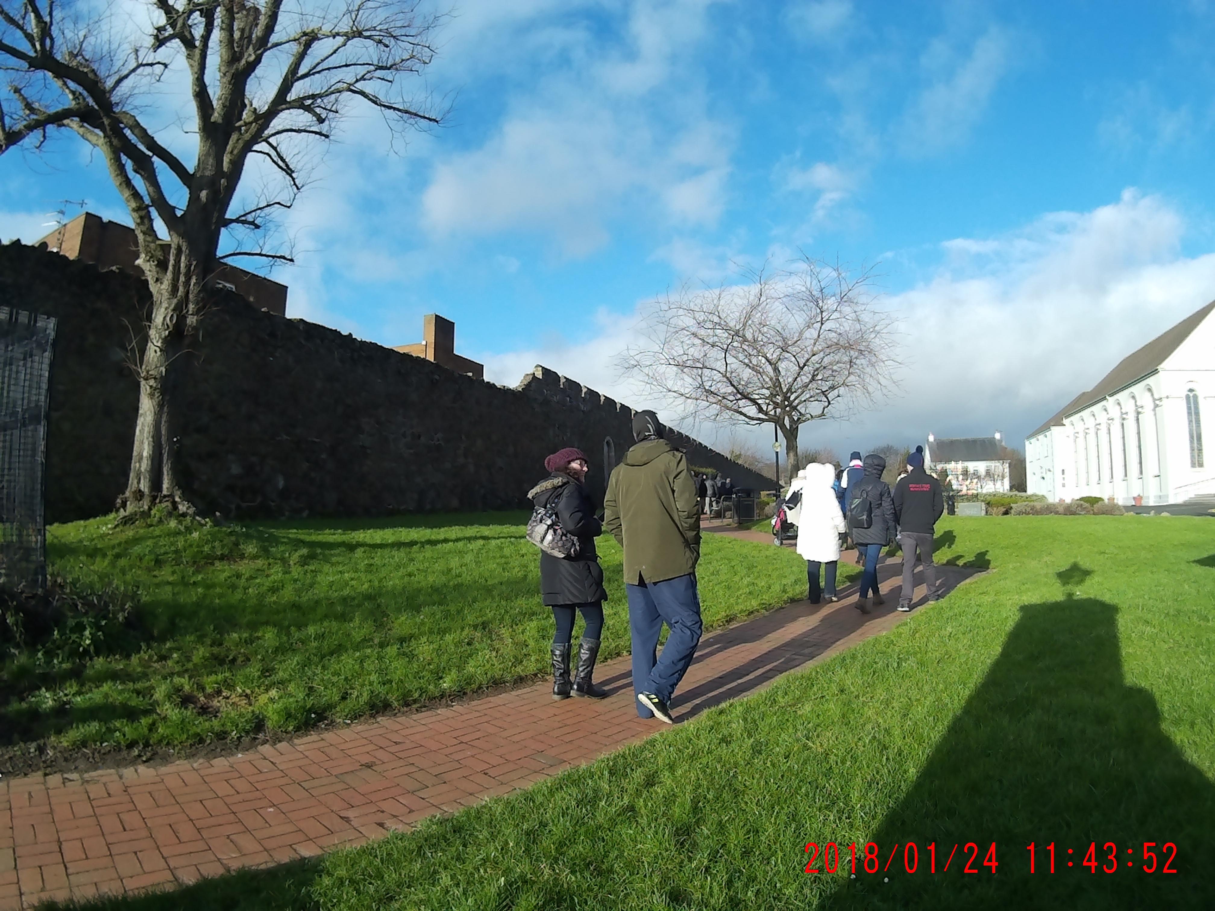 Walls of Carrickfergus