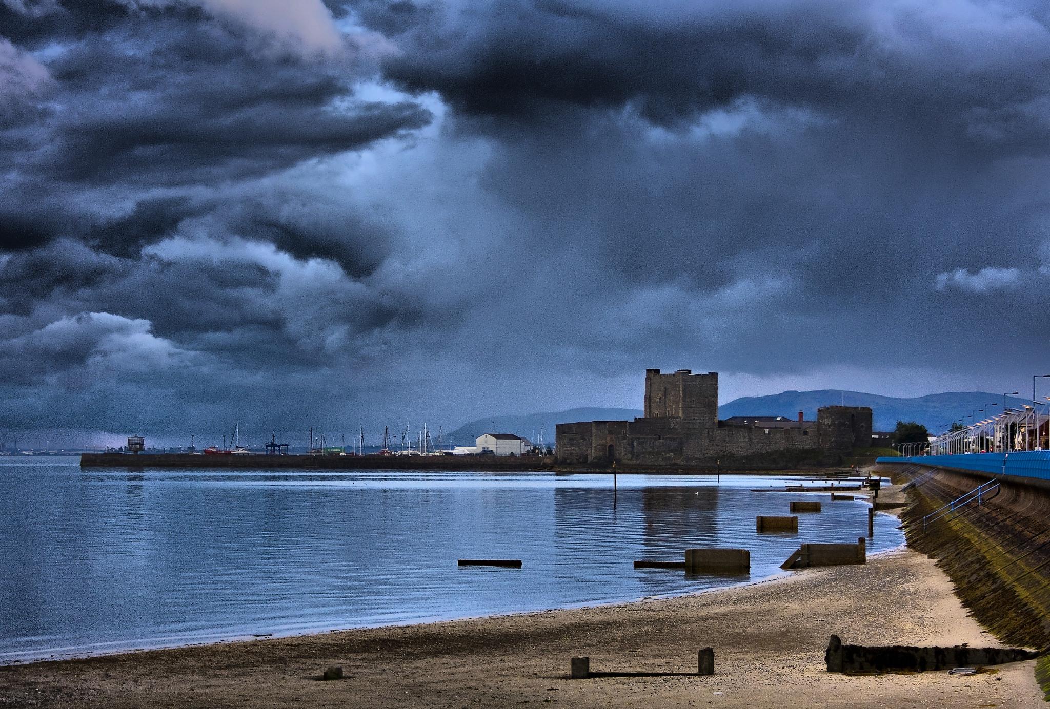 Carrickfergus Castle Seaview