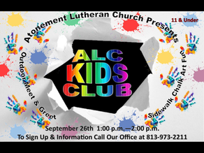 NEW !!!!  ALC KID'S CLUB !