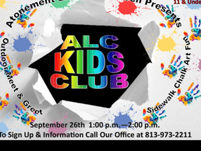 Sept 2020 ALC Kids Club !