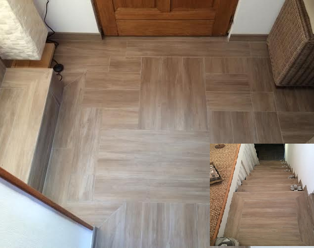 carrelage immitation parquet