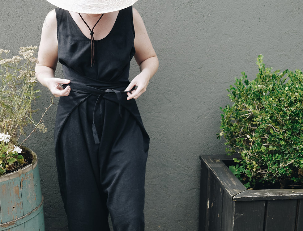 Mirage Jumpsuit in Black