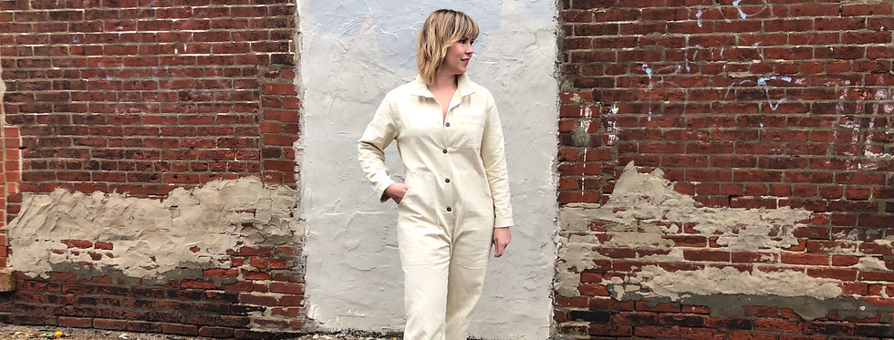 Bud Coveralls in Wheat