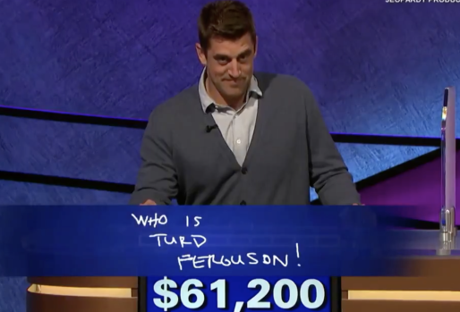 Aaron Rodgers is Hosting Jeopardy Now