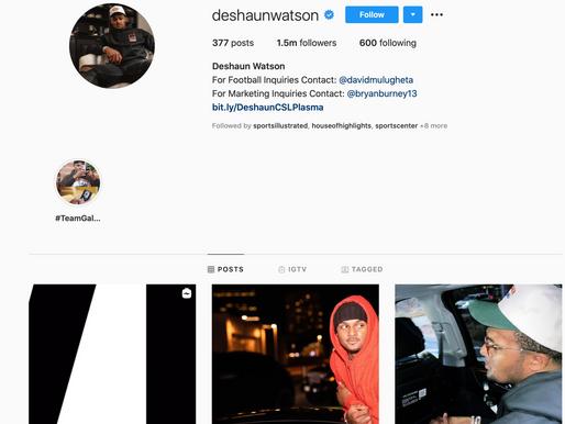 Deshaun Watson Instagram